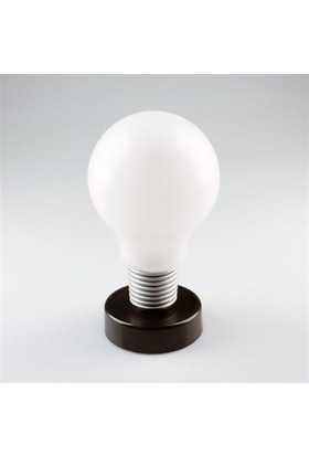 BuldumBuldum Bulb Plastic Lamp With 2 Led - Ampul Masa Lambası