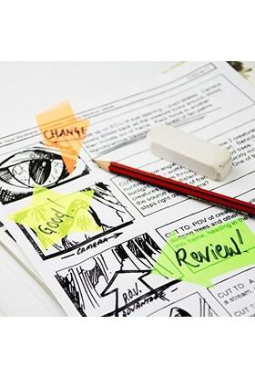 BuldumBuldum Transparent Notes - Transparan Not Kağıtları - Heart - Kalp