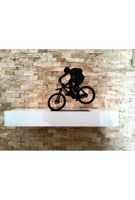 Dekoratif Metal Bisiklet Akrobasi