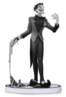 DC Collectibles Batman Black and White The Joker by Jim Lee Second Edition Statue