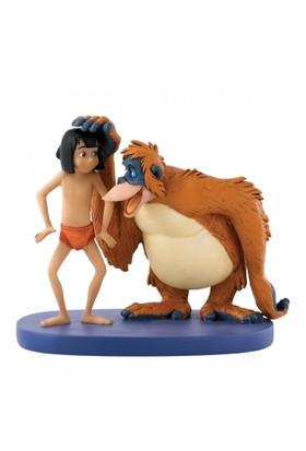 Enesco Disney Traditions Be Like You (Mowgli & King Louie)