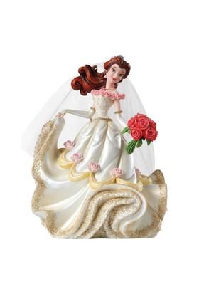 Enesco Disney Traditions Belle Wedding Figurine