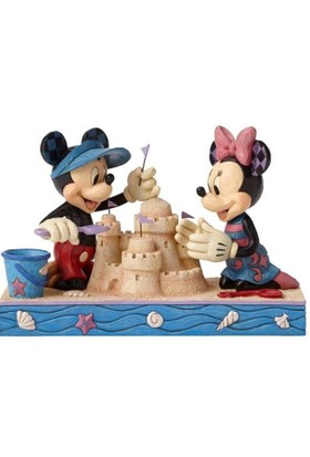 Enesco Disney Traditions Seaside Sweethearts (Mickey & Minnie Mouse)