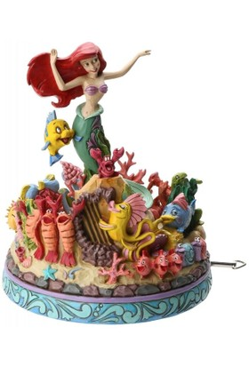 Enesco Disney Traditions Under The Sea Müzikli Diorama (The Little Mermaid Musical)