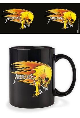 Pyramid International Metallica Flaming Skull Kupa Bardak