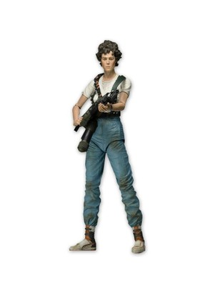"NECA Aliens 7"" Action Figure Series 5 Lt. Ellen Ripley With Flame Thrower"