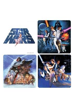 Half Moon Bay Star Wars Bardak Altlığı 4'lü Set