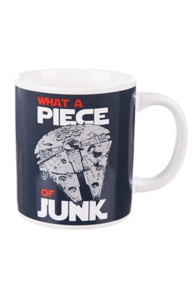 Half Moon Bay Star Wars What A Piece Of Junk Millennium Falcon Kupa Bardak