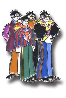 Rock Off The Beatles İğne Yellow Submarine Band