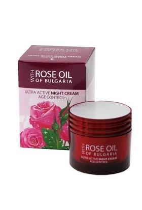 Rose of Bulgaria Regina Roses Ultra Active Night Cream