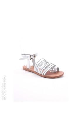 Gio&Mi Beyaz Sandalet Z28kdm