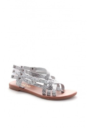 Gio&Mi Gri Sandalet V8b