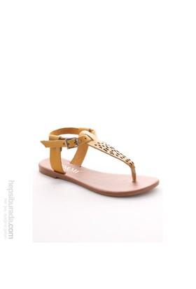 Gio&Mi Sarı Sandalet Hs-18