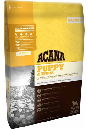 Acana Heritage Puppy Junior Tahılsız Yavru Köpek Maması 11.4 Kg