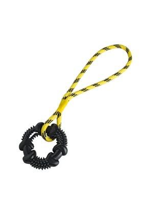Hunter Köpek Çekiştirme Oyuncağı 11 cm X 45 Cm Sarı-Siyah