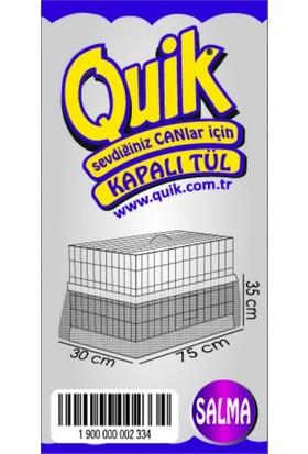 Quik Alti Kapali Kafes Tülü Salma (XL)