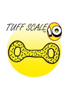 Tuffy Ultimate Tug-O War Yumuşak Sesli Köpek Çekiştirme Oyuncağı 55 Cm (Sarı)