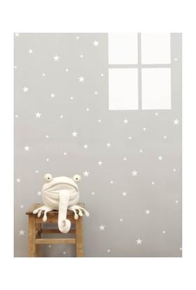Dekorjinal Beyaz Yıldızlar Duvar Sticker CST041
