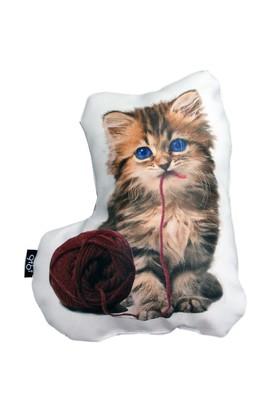 Gibi Design Tommy Yavru Kedi Yastık