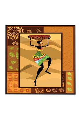 Arte Arte Afrika Kanvas Tablo 30x30 cm