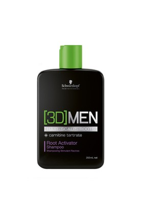 Schwarzkopf 3D MEN Root Activator Dökülme Önleyici Şampuan 250ml