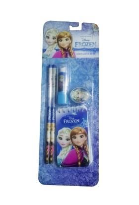 Frozen Elsa Kırtasiye Seti - Not Defterli