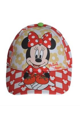 Minnie Mouse Şapka - Kırmızı / Beyaz