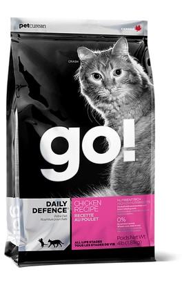 Petcurean Go Daily Defence Tavuklu Kedi Maması 200gr