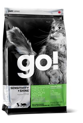 Petcurean Go Sensivity Shine Tahılsız Somonlu Kedi Maması 1,8kg