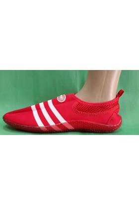Sport Deniz Ayakkabısı ( Kırmızı - Beyaz )