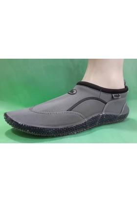 Ahs Deniz Ayakkabısı ( Gri - Siyah )