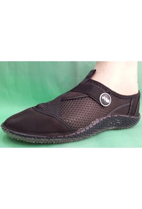 Ahs Fileli Deniz Ayakkabısı ( Siyah )