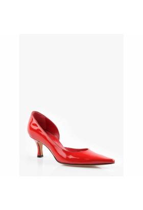 Pedro Camıno Bayan Klasik Ayakkabı 88109 Kırmızı