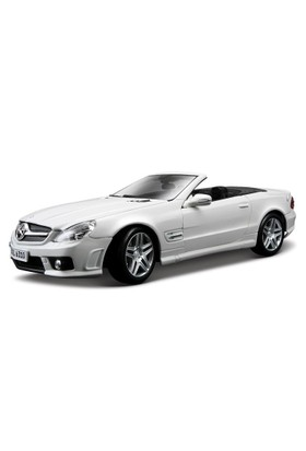 Maisto Mercedes Sl 63 Amg 1:18 Model Araba S/E Beyaz