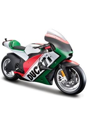 Maisto 2011 Ducati Desmosedici 1:6 Model Motosiklet Yeşil