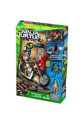 Mega Bloks Ninja Kaplumbağalar Moto Attack Rocksteady Oyun Seti