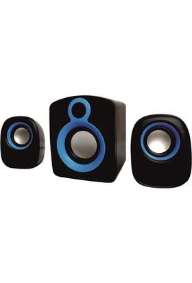 Appa Kr-003 Yüksek Ses Usb 2+1 Speaker Hoparlör