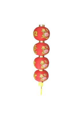 Shandong Destek Çin Feneri Kuş Ve Çiçekler C2008 H:83Cm D:20Cm