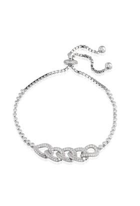 Coşar Silver Gümüş Sarmal Bileklik CZB588-1