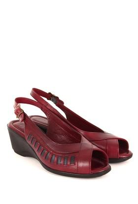 Gön Deri Kadın Sandalet 45214