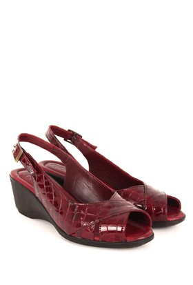 Gön Deri Kadın Sandalet 45316