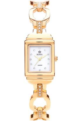 Royal London Altın Sarısı 24 mm Kasa Çapı Royal London Bayan Kol Saati - 21164-02