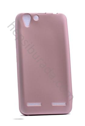 Case 4U Lenovo K5 Premier İnce Silikon Kılıf Rose Gold