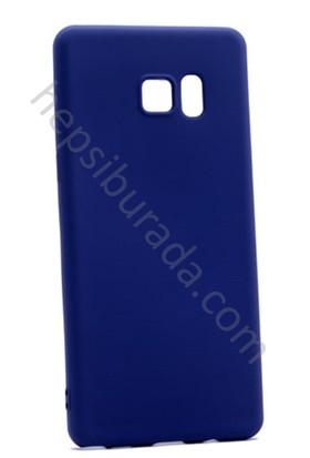 Case 4U Samsung Galaxy Note Fan Edition FE / Note 7 / Note 7 Premier İnce Silikon Kılıf Lacivert
