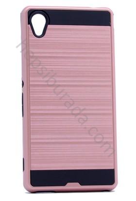 Case 4U Sony Xperia M4 Korumalı Kapak Rose Gold