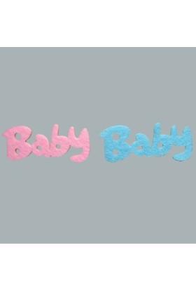 Tahtakale Toptancısı Baby Keçeden Yazı (100 Adet)