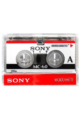 Sony 3xMC-60 Micro Kaset