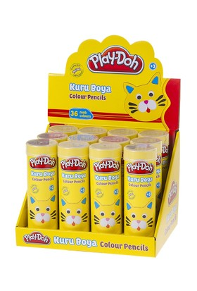 Play-Doh 36 Renk Kuruboya / Tüp Display PLAY-KU019