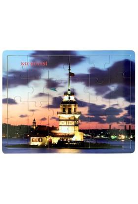Ceo Ahşap Puzzle Kız Kulesi 40X30Cm CEO-AP0011