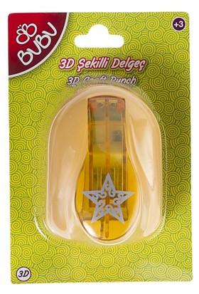 Bu-Bu Şekilli 3D Delgeç Yıldız BUBU-DE0018